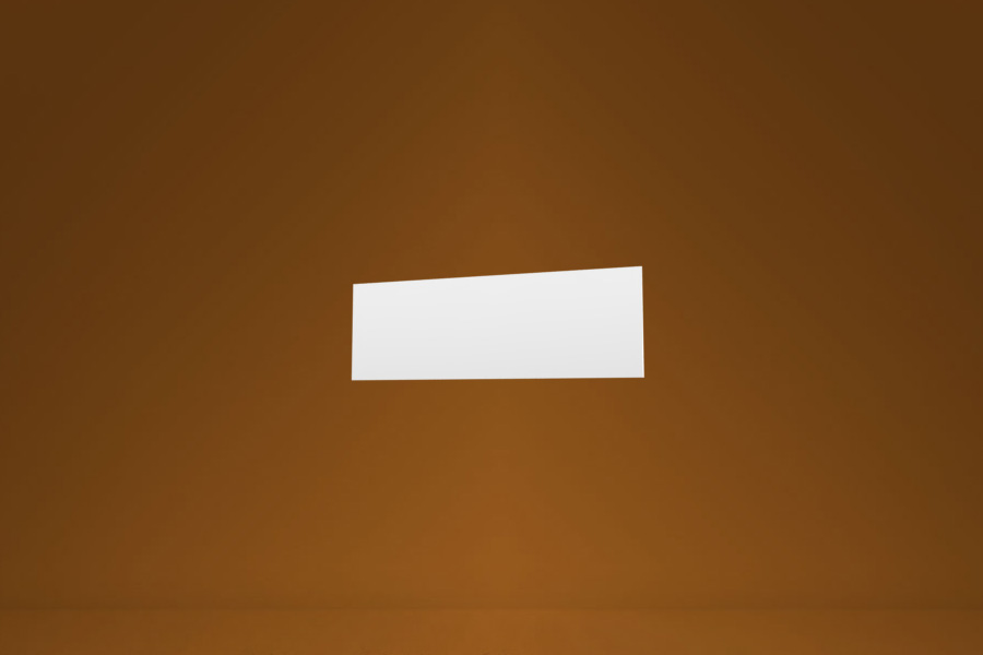 Panel 30x10 cm biały