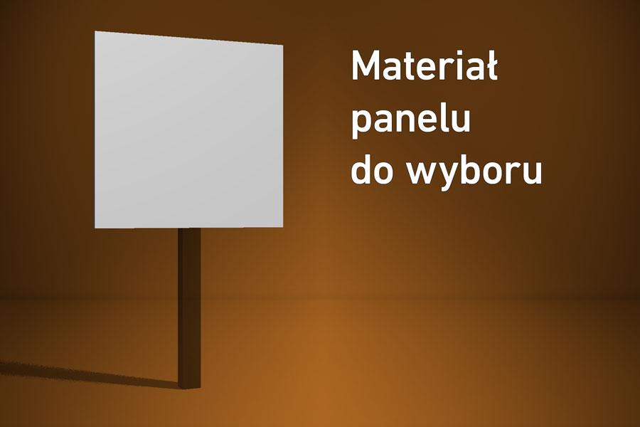 Panel o wymiarach 30×30 cm Materiał do wyboru*