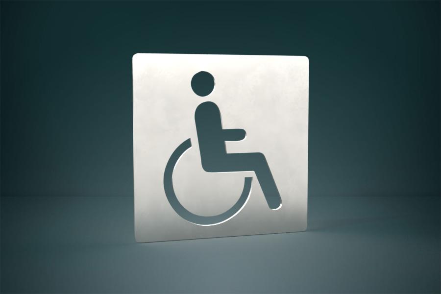 Piktogram niepełnosprawni