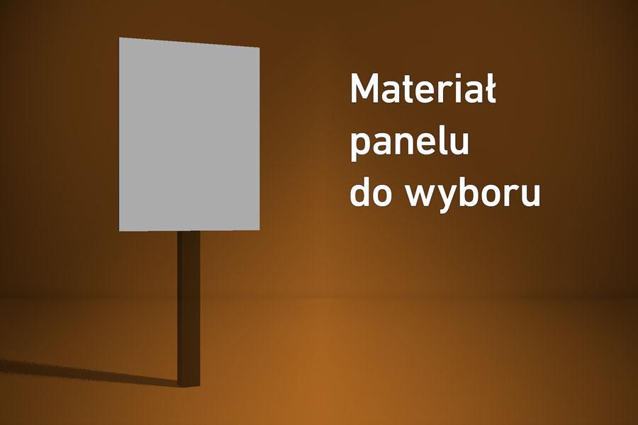 Panel o wymiarach 20×30 cm Materiał do wyboru*